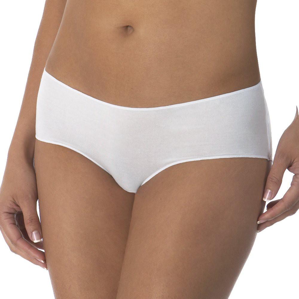Womens 3-Pack Modal Hipster White M