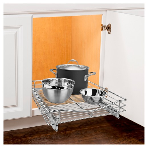 Lynk Professional Pull Out Cabinet Organizer Sliding Shelf 17 W X 21 D Target