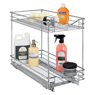 Lynk Professional® Pull Out Double Drawer - 2 Tier Sliding Cabinet Organizer 11 w x 21 d