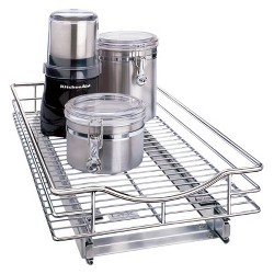 "Lynk Professional® Pull Out Cabinet Organizer - Sliding Shelf 11""w x 21""d"