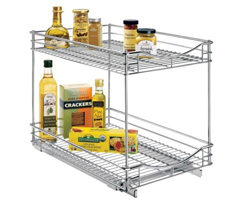 "Lynk Professional® Pull Out Double Drawer -  2 Tier Sliding Cabinet Organizer 14""w x 21""d - image 1 of 5"