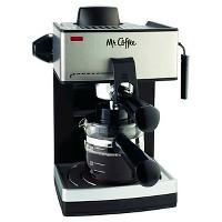 Mr. Coffee ECM160-NP 4-Cup Steam Espresso & Cappuccino Maker