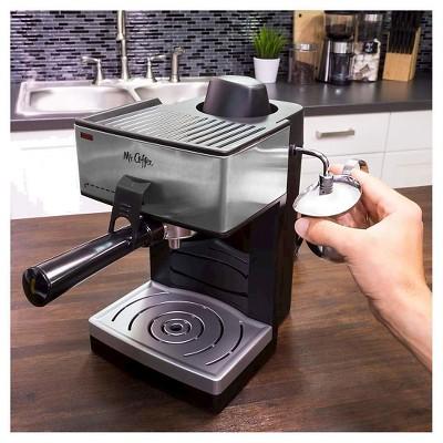 mr coffee steam espresso u0026 cappuccino maker ecm160np - Coffee And Espresso Maker