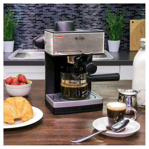 Mr. Coffee Steam Espresso & Cappuccino Maker - ECM160-NP : Target
