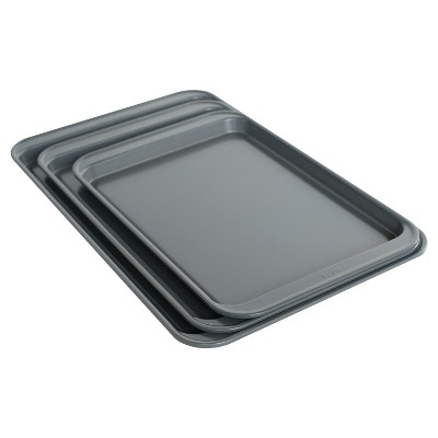 Nordic Ware 3 Piece Cookie Sheet Set