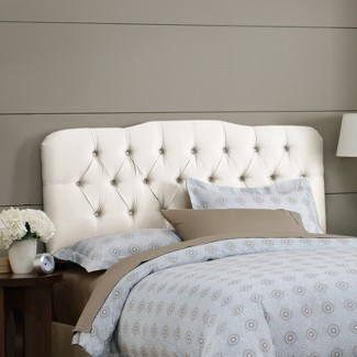 Custom Upholstered Headboards custom seville upholstered headboard collection - skyline : target