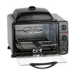 Elite Professional Jumbo Toaster Oven Broiler - 23L