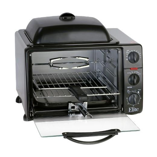 Elite Professional Jumbo Toaster Oven Broiler 23l Target