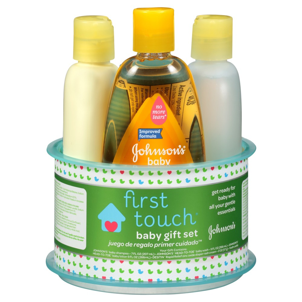 JOHNSON & JOHNSON First Touch Gift Set
