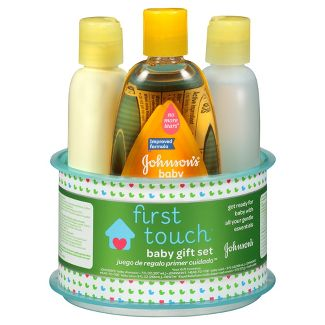 Johnson's First Touch Gift Set
