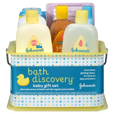 Johnson\'s Baby Bathtime Gift Set : Target