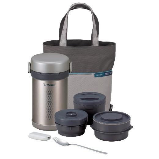 zojirushi ms bento stainless steel lunch jar set target. Black Bedroom Furniture Sets. Home Design Ideas