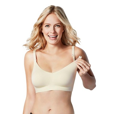 Bravado! Designs® Women's Body Silk Seamless Nursing Bra - Ivory L