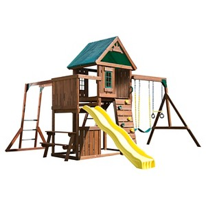 Swing-N-Slide Chesapeake Wooden Play Set Kit
