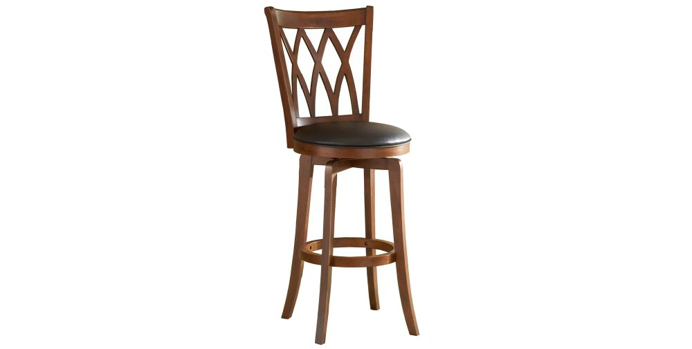 Mansfield 24 Counter Stool Harwood/Brown - Hillsdale Furn...