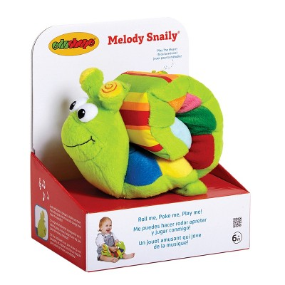 Edushape Melody Snaily Plush Toy