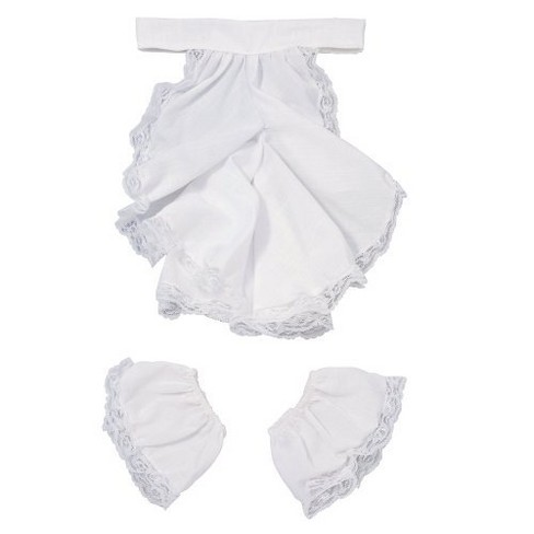Colonial Jabot and Cuffs Costume Accessory Set White - image 1 of 1