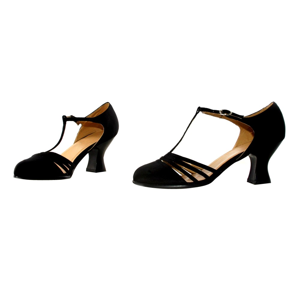 Adult Lucille Costume Shoes Black Size 7, Womens, Size: 7.0, Variation Parent