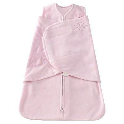 HALO® Sleepsack® Micro-Fleece Swaddle - Soft Pink - S
