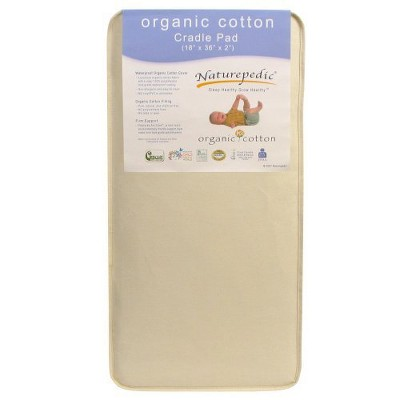 Naturepedic Organic Cotton Cradle Mattress/Pad