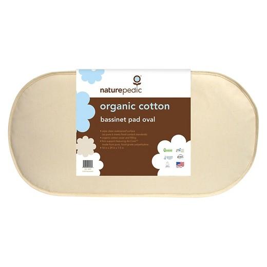 Naturepedic Organic Cotton Oval Bassinet Mattress - Naturepedic Organic Cotton Oval Bassinet Mattress : Target