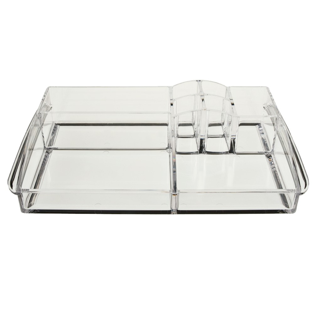 Caboodles Objects of Desire 8 Compartment Acrylic Tray