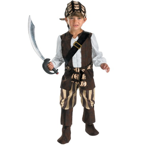 Rogue Pirate Boys' Costume - Small (4-6) - image 1 of 1