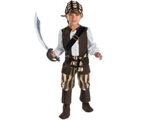 Boys' Rogue Pirate Toddler Costume - image 1 of 1