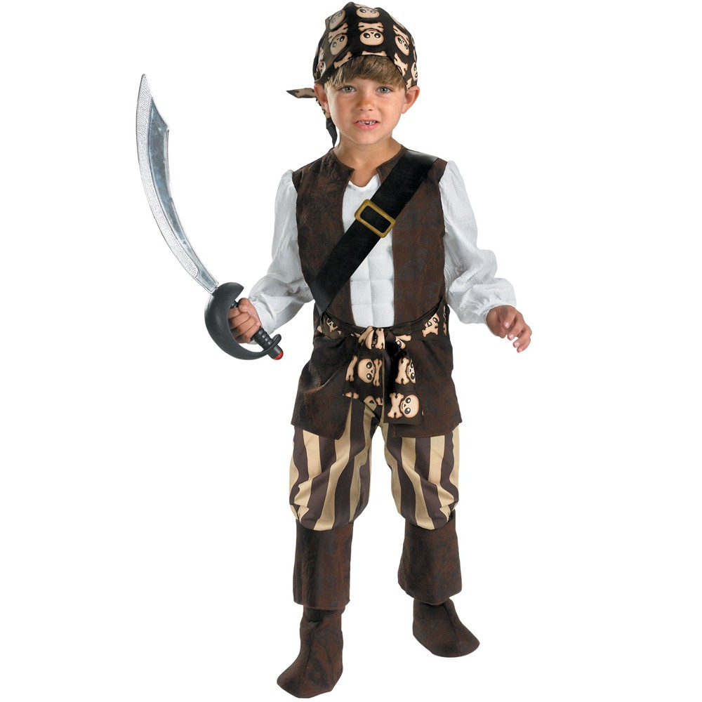 Rogue Pirate Toddler Boys Costume - 3T-4T, Variation Parent