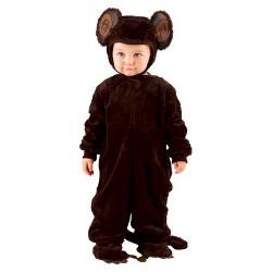 Plush Monkey Baby Costume