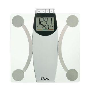 Conair Ww67y Weight Watchers Glass Body Analysis Scale