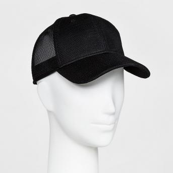 Women's Mesh Back Baseball Hat - Mossimo Supply Co.™ Black