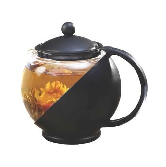 Primula Half Moon Tea Pot Set - Black