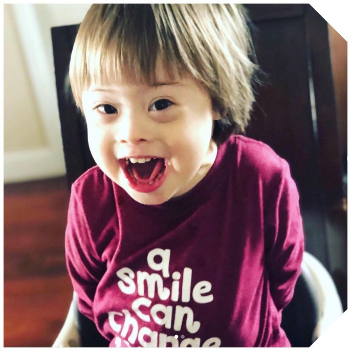 Toddler Boys' a Smile Can Change The World Long Sleeve T-Shirt - Cat & Jack™ Country Red