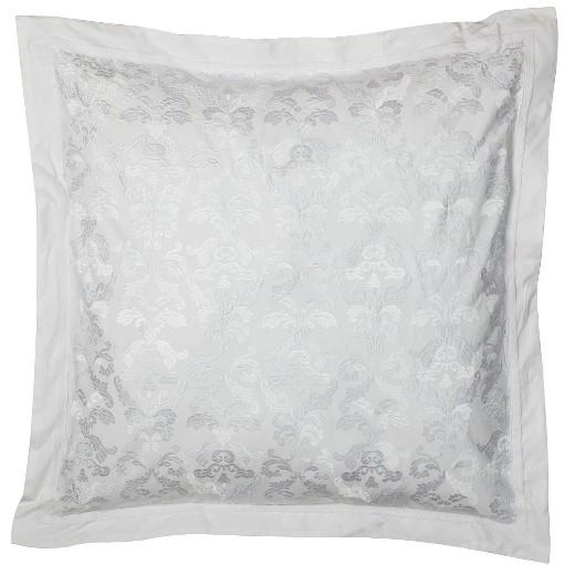 elegant embroidered euro pillow 26x26 - Decorative Pillows Target