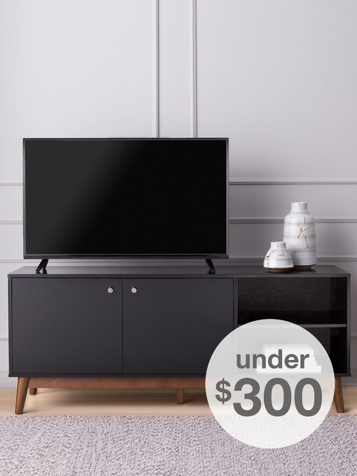 Threshold living room furniture  TV Stands under 300 Storage Bench Living Room Furniture Target