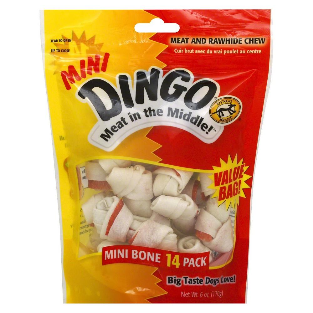 Dingo Meat Middle Minis 14 pk, Buff Beige