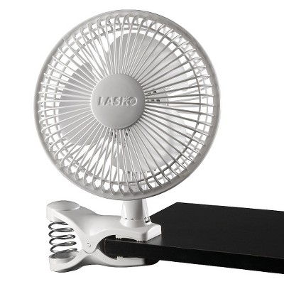 Lasko - 6  2-Speed Clip Fan - White