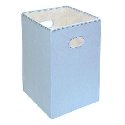 Badger Basket Folding Hamper Blue