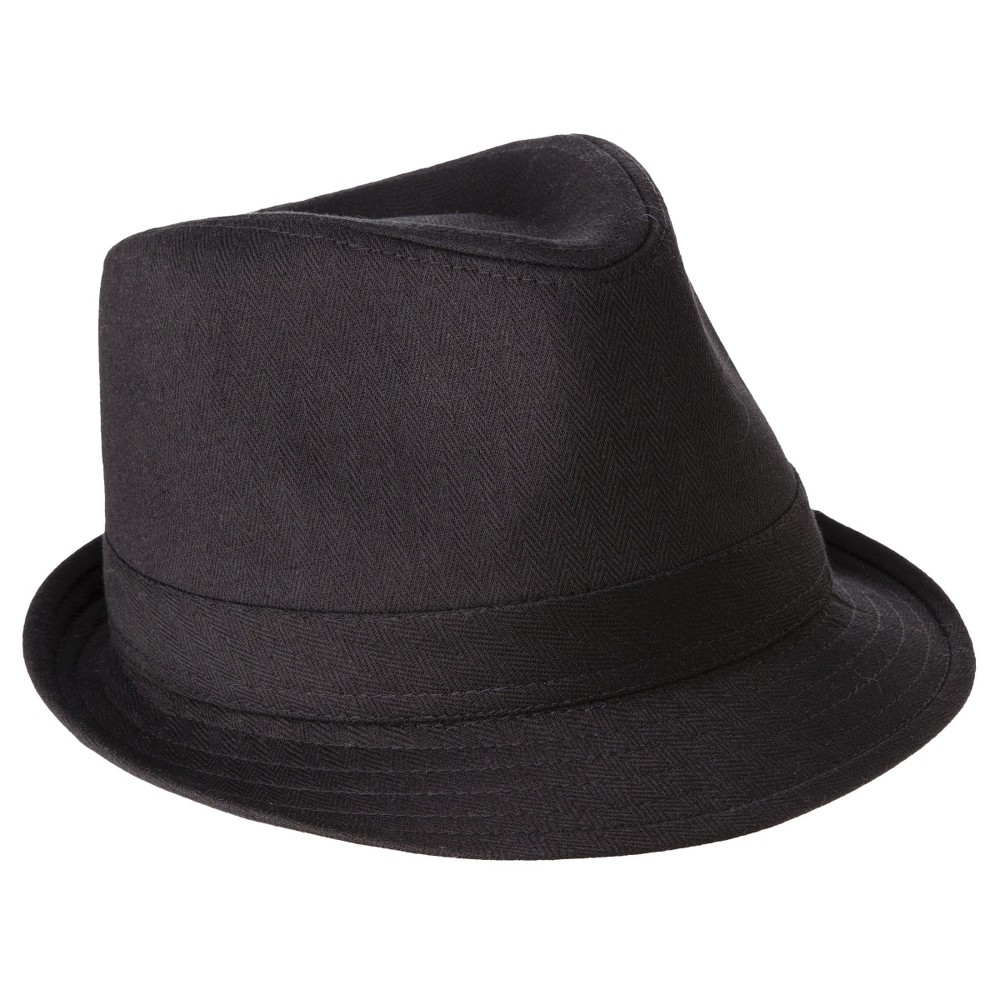 Mens Fedora Hat- Goodfellow & Co Black S/M, Size: Medium/Large