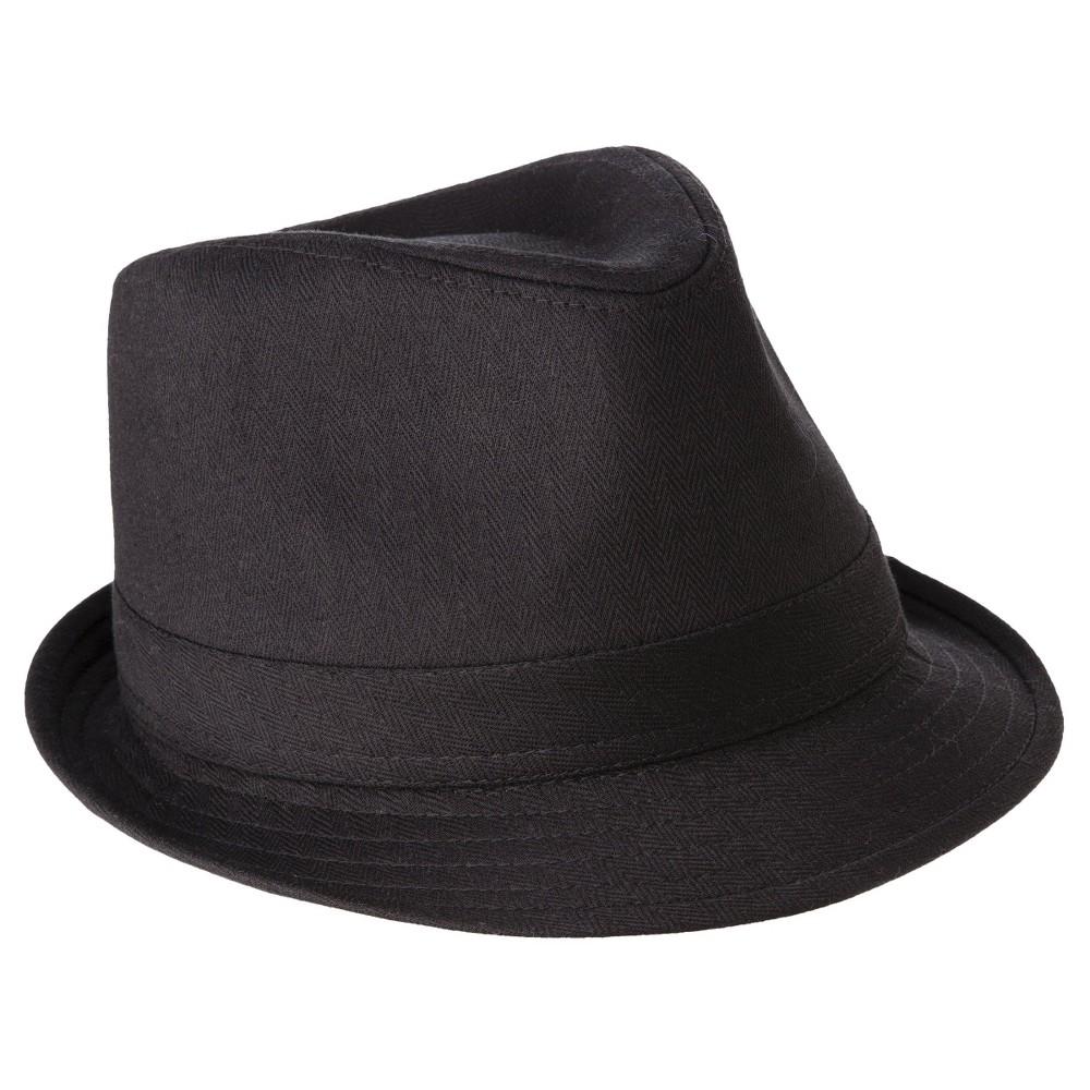 Mens Fedora Hat - Goodfellow & Co Black L/XL