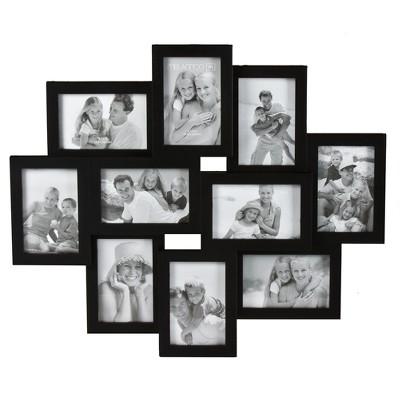 10-Opening Collage 4 x6  Frame - Black
