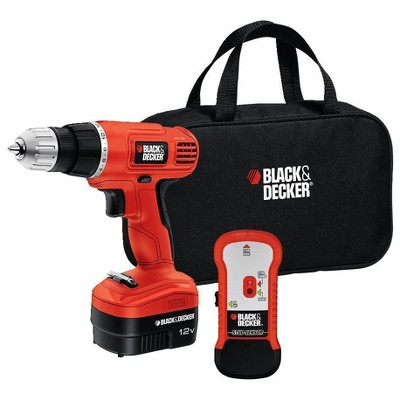 BLACK+DECKER™ Black & Decker 12V Drill with Stud Finder
