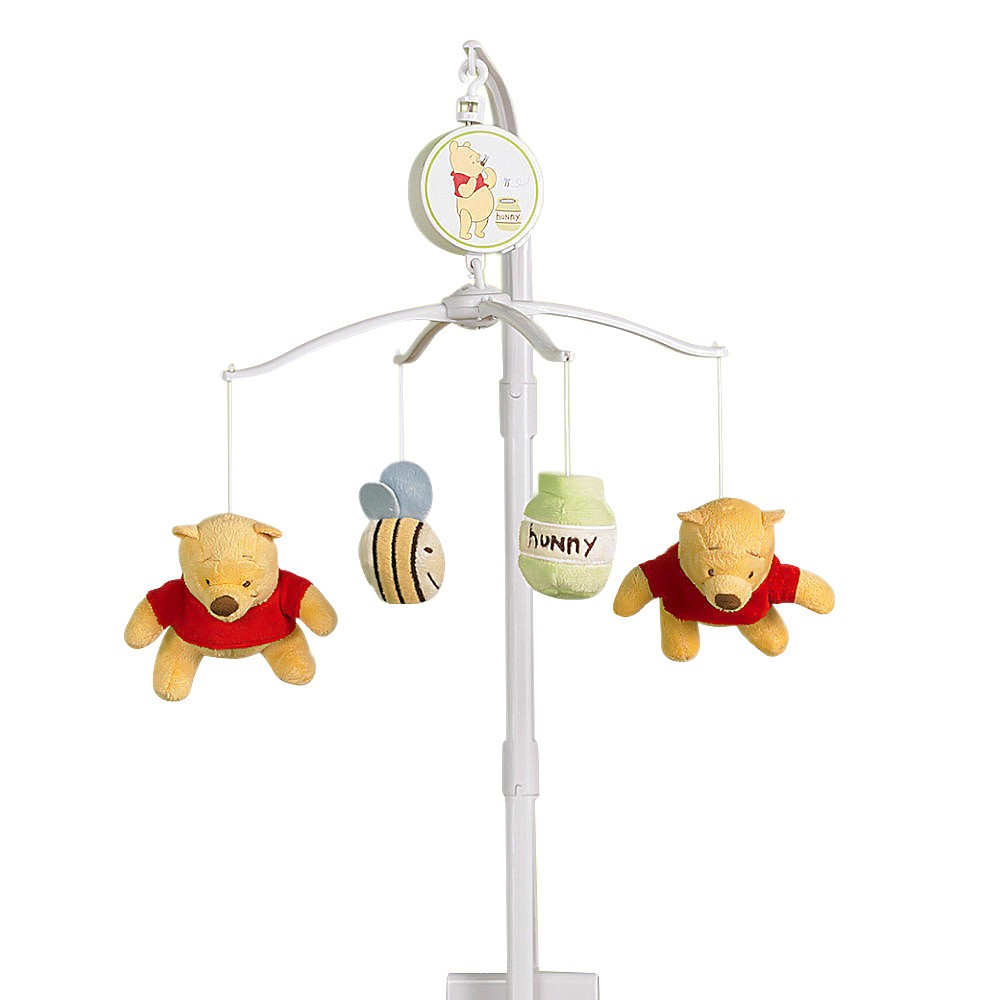 Crown Crafts Winnie the Pooh Musical Mobile