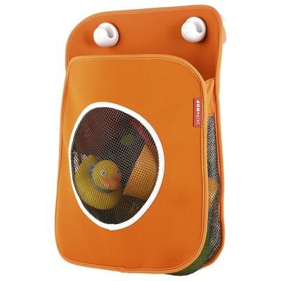 Skip Hop Tubby Bath Toy Organizer - Orange