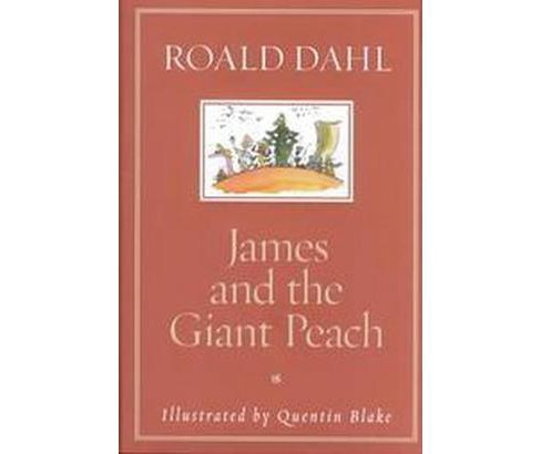 James and the Giant Peach (Revised) (Hardcover) (Roald Dahl) - image 1 of 1