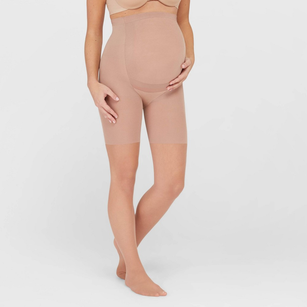 Assets by Spanx Women's Maternity Perfect Pantyhose - Nude 4 plus size,  plus size fashion plus size appare