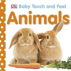 Animals (Baby Touch and Feel) (Board) by DORLING KINDERSLEY, INC.