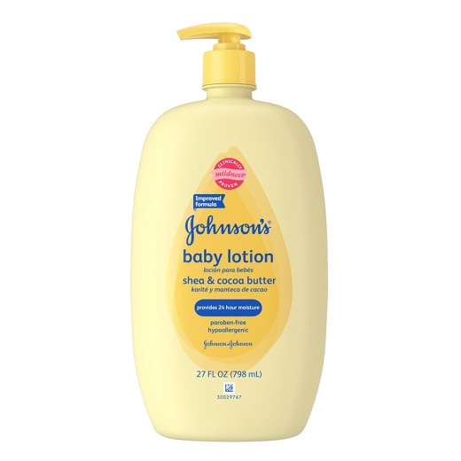 Johnson And Johnson Baby Lotion