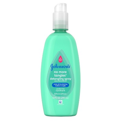 Johnson's No More Tangles Detangling Spray - 10.0 oz.